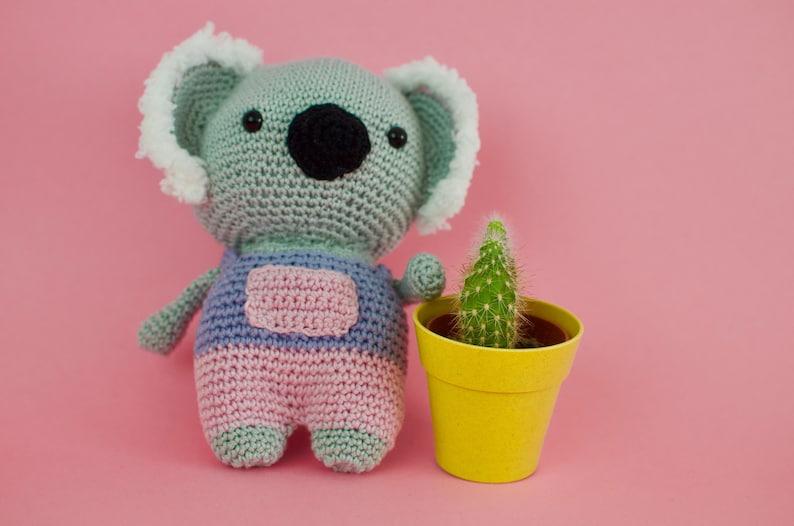 Cute amigurumi animals, funny crochet koala, koala crochet plush, kawaii  plush toy, koala bear stuff animal, crochet lovely stuff, kawaii