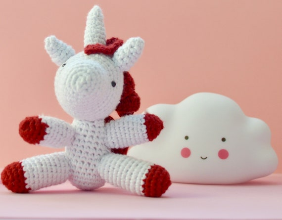 Cute Unicorn Amigurumi Free Crochet Patterns | 445x570
