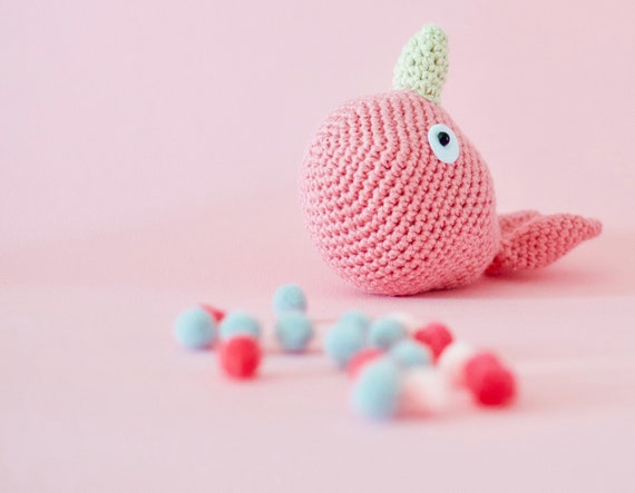 Amigurumi Narwhal Toy Free Crochet Pattern - Cool Creativities | 443x570