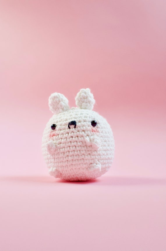 Little White Cat Crochet Amigurumi Material Kit Japanese Craft Kit H301-436 -