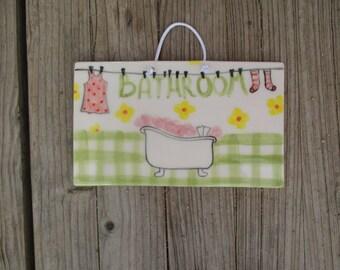 Girly bathroom decor | Etsy