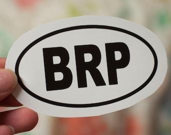 Blue Ridge Parkway (BRP) Vinal Decal: Laptop Sticker