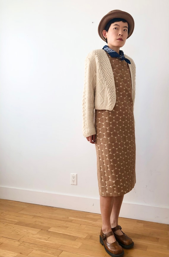 Vintage Marni Polka Dot sheath Dress | m