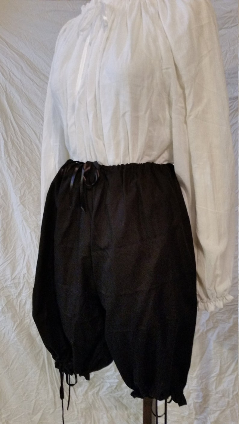 Renaissance Bloomers Victorian Steampunk SCA wench pioneer image 0