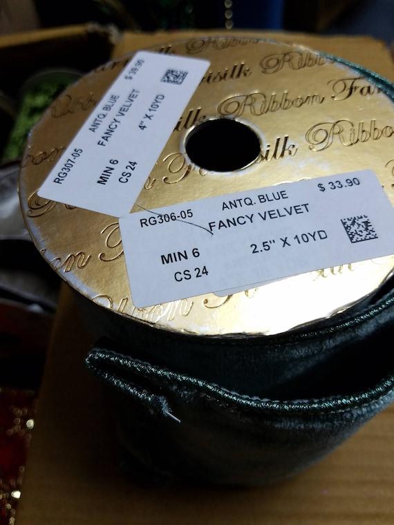 30 de rouleaux de 30 rubans en échantillon de Farris soie Showroom 477438