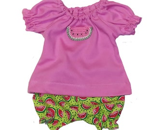 Watermelon Top and Bloomer