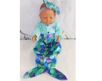 Preemie-Newborn Mermaid Photo Prop