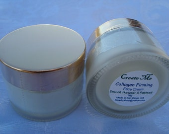 Collagen Firming Face Cream with Emu Oil VitaminA, C, E & Essential Oil Blends