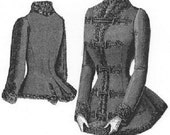 AG1769 - 1889 Jacket Trimmed with Astrakhan Sewing Pattern by Ageless Patterns