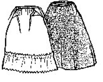 PI610 -   1740-1770s Petticoat Sewing Pattern by Period Impressions
