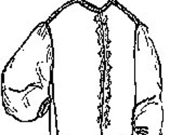 PI414 - Garibaldi Shirt Sewing Pattern by Period Impressions
