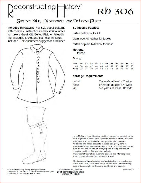 Contemporary Kilt Sewing Pattern Inspiration - Easy Scarf Knitting ...