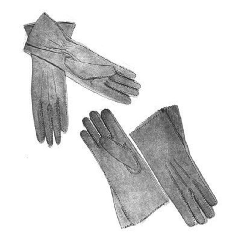 d6151be06506 AY08 Women s Leather Gloves Sewing Pattern by Alter