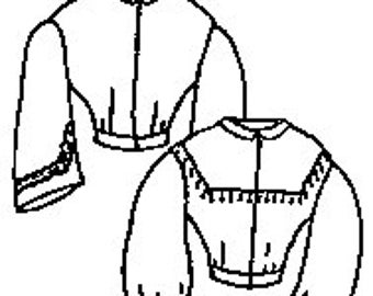 PI406 - 1800s Basic Bodice Pattern by Period Impressions
