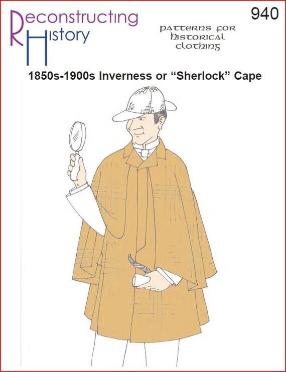 RC940 victoriano Inverness capa coser patrón caballero | Etsy