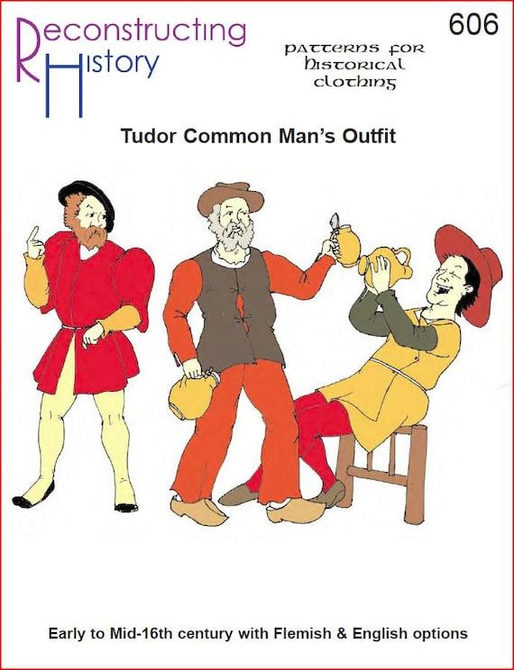 RC606 Tudor común hombre camisa jubón pantalón y Hosen | Etsy