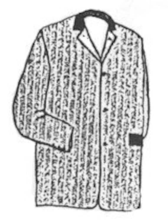 PI701 saco traje chaqueta costura patrón de los hombres por | Etsy