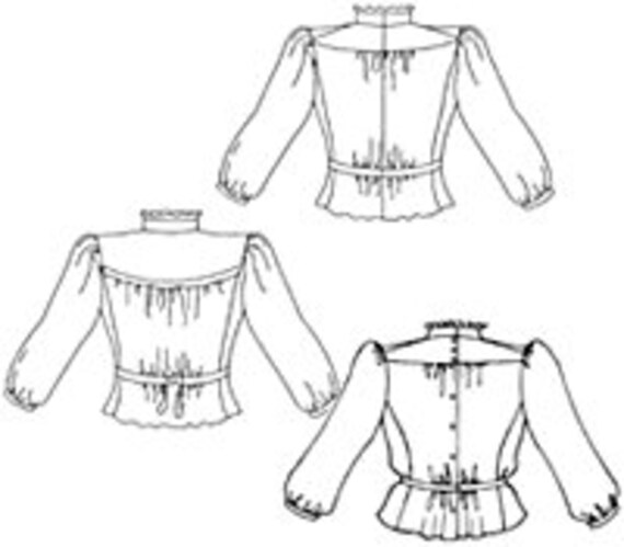 fw205 gibson girl blouse misses small to 3x etsy New Roles for Women in the 1920s 50