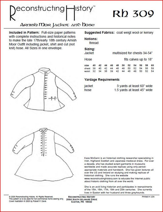 pour s/'adapter à la poitrine 34-54 in Knitting Pattern for Gents Câble Pull