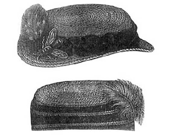 AG1242 1868 Hut & Mütze Häkelmuster durch zeitloses Muster | Etsy