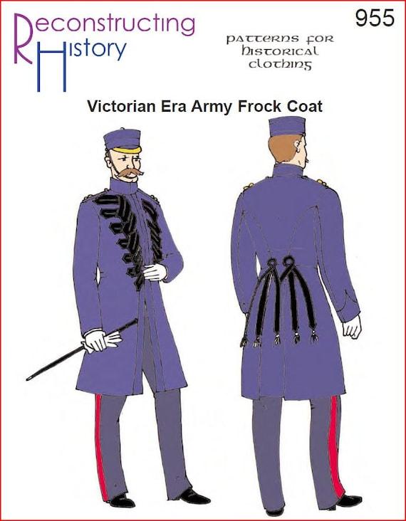 RC955 ejército británico de época victoriana coser levita | Etsy