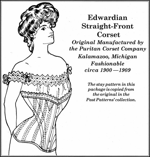 PA106 1901-1908 Gerade konfrontiert Edwardian | Etsy