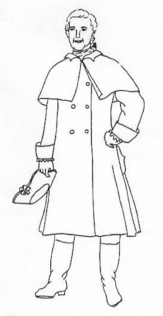 Jack sparrow mantel schnittmuster