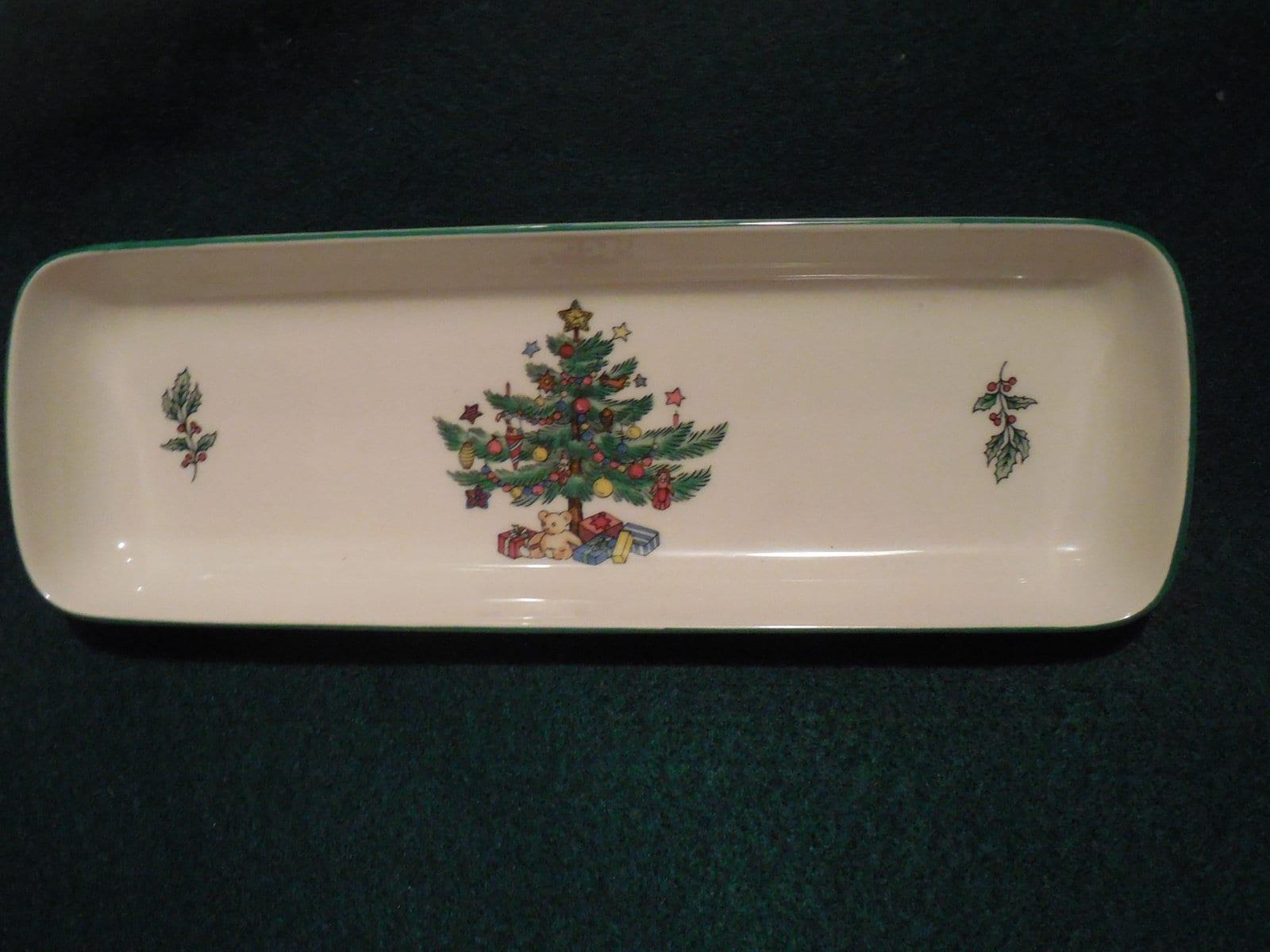 Nikko Christmas dish for candies / treats / decor Nikko China | Etsy