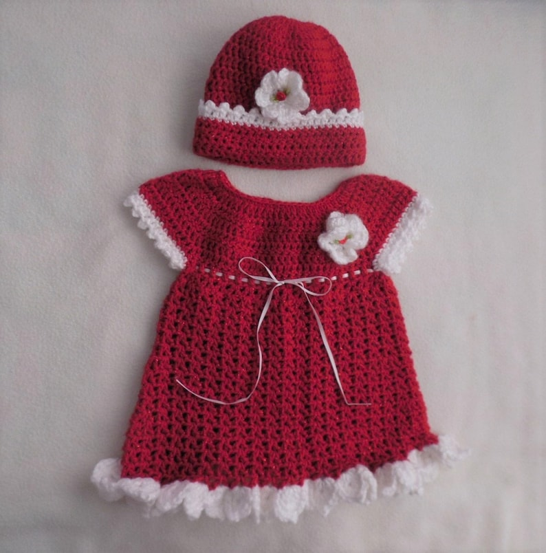 951d22d70 Red baby sweater dress baby dress set red baby girl dress