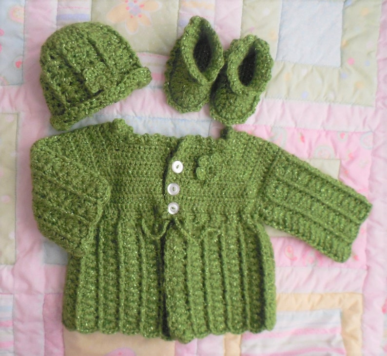 Baby Sweater Set Baby Sweaters Crochet Baby Sweater Baby Etsy