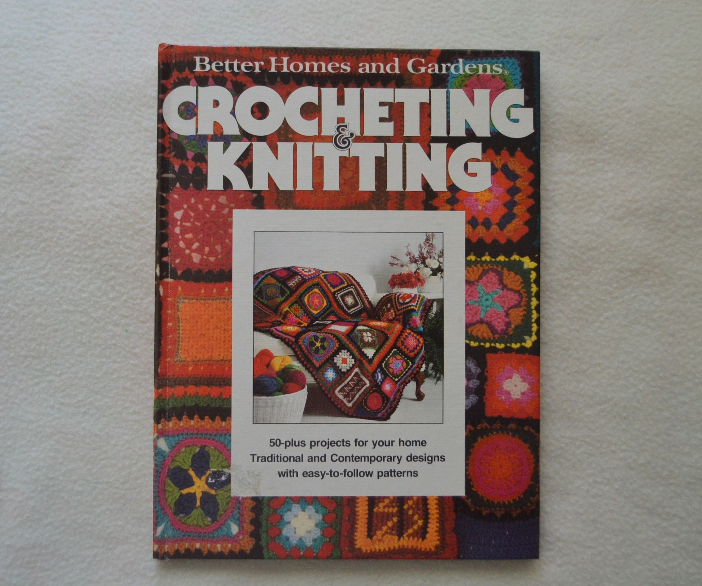 In Style CROCHET for the Home Project Pattern Book New