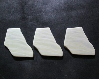 Healite Flat Touchstones ~ 3 pieces ~ Clears Pain ~ Tumbled Soft ~ Reiki Charged ~ 5H4
