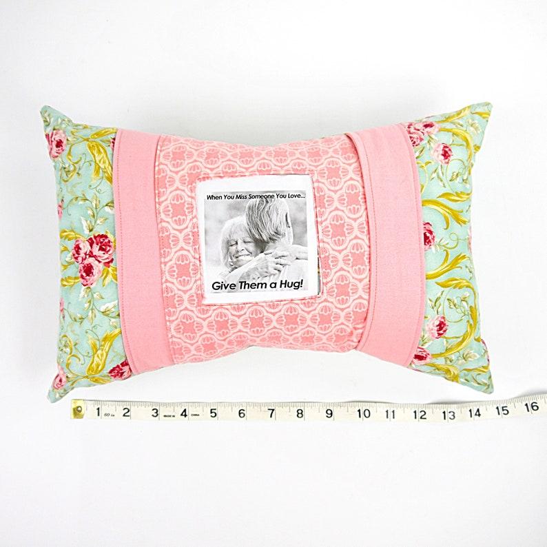 Gift for Her Custom Pillow Pillow with Frame Memorial Pillow Keepsake Pillow Personalized Pillow Custom Order Memory Pillow