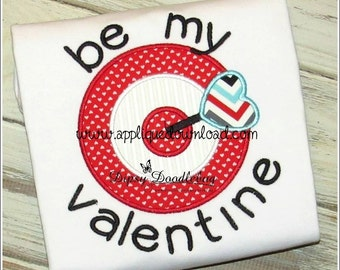 Bullseye valentine etsy bullseye valentine instant email with download 3 sizes for embroidery machines thecheapjerseys Choice Image