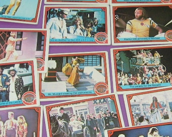 vintage LONELY HEARTS CLUB band by donruss 1978 lot of trading cards 20 used cards