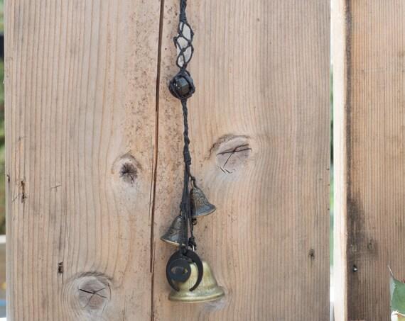 Witche's bells / Home spiritual protection / Black Tourmaline and Quartz