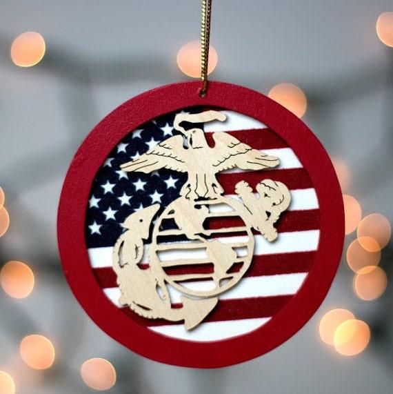Christmas Ornament Marine Corps Military Christmas Gift