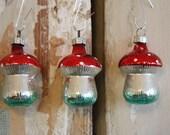 Single Mercury Glass Toadstool Ornament