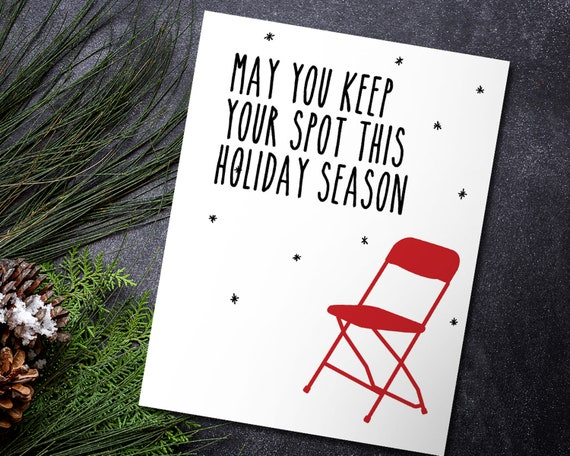 Swell Funny Parking Holiday Card With Envelope Pdpeps Interior Chair Design Pdpepsorg
