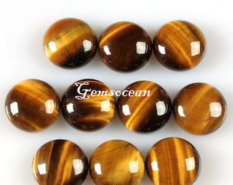 Lot of Stunning 25 Pieces AAA Quality GARNET Round Cabochon 7x7 mm Loose Gemstone Calibrated
