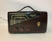 1940s Zenith Model 7H922 AM-FM Radio Edwin Armstrong System Bakelite
