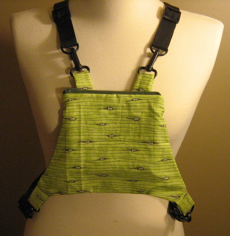 Child or Rejected Joey size Original Sissy Pouch with adjustable strap NO WINDOW Little Eyes Sugar Gliders ~ Bonding pouch