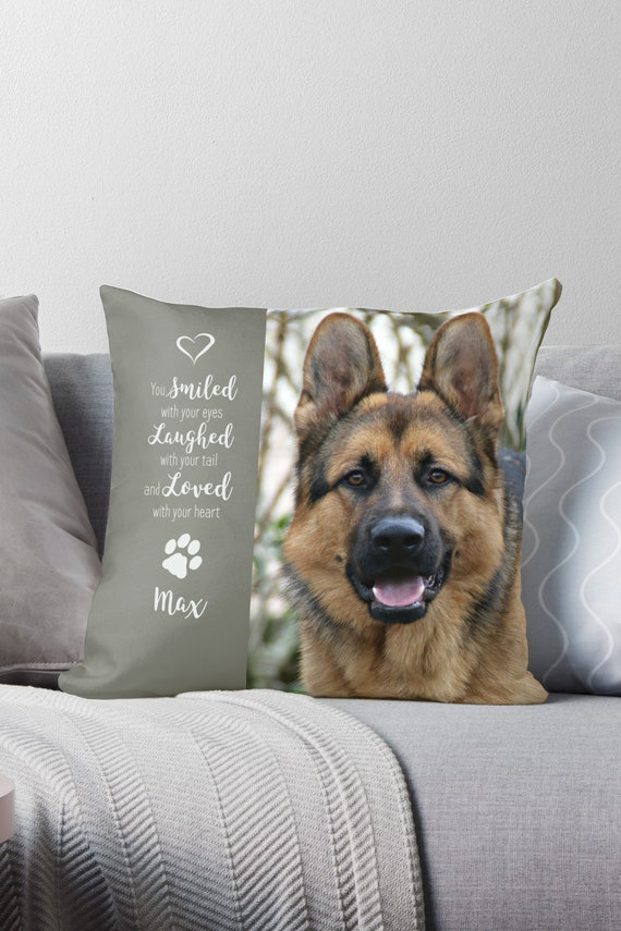 Pet Photo Pillow 5MHAL Pet Memorial