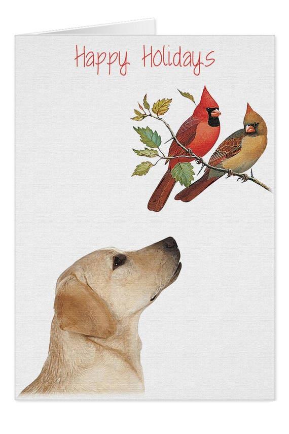 Yellow Lab Cards X10YCAR Holiday Cards Labrador Christmas   Etsy