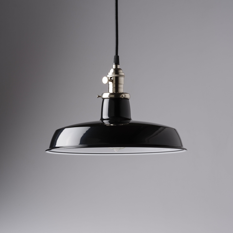 Benjiman Pendant Light Fixture 12 Black Vintage