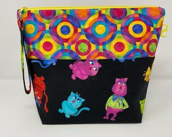 Cool Cats Project Bag