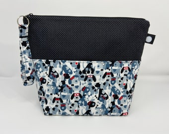 Camo Dogs Project Bag