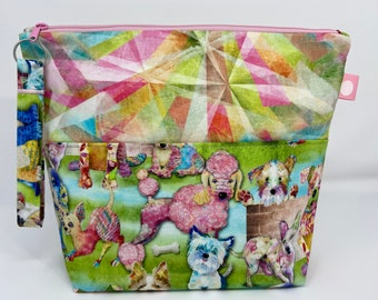 Pastel Puppies Project Bag