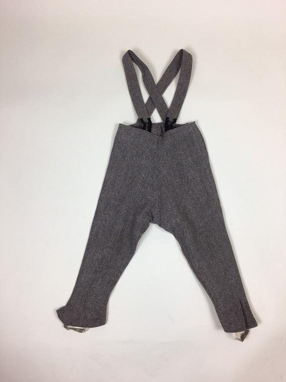 Vintage 1940s Boys Tweed Coat Pantsuit Set / vint… - image 5