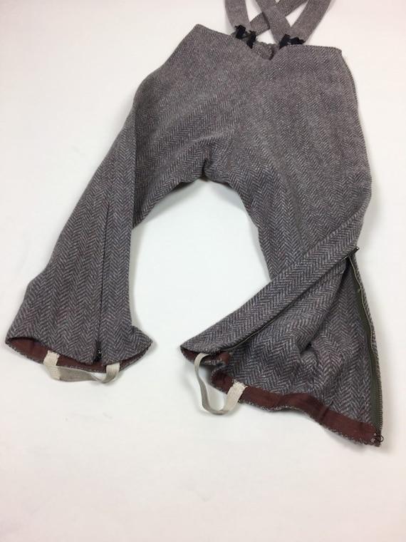 Vintage 1940s Boys Tweed Coat Pantsuit Set / vint… - image 7
